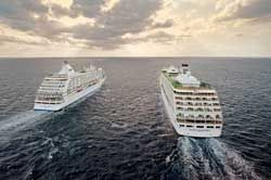 Mariner & Voyager ships leave Bahamas together