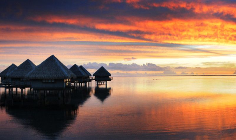 6 Day Bora Bora Overwater Sunset Bungalows